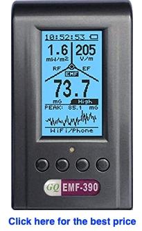 Advanced GQ EMF-390 detector