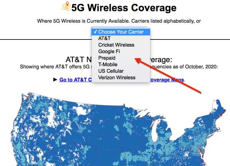 cellularmaps.com 5g coverage map
