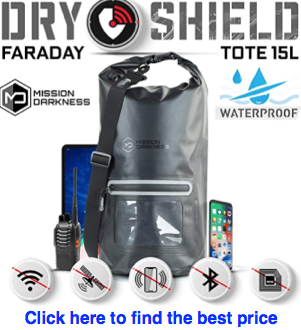 Mission Darkness Dry Shield Faraday Bag Tote 15L