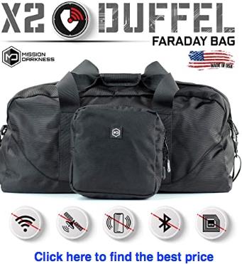 Mission Darkness X2 Faraday Duffle Bag