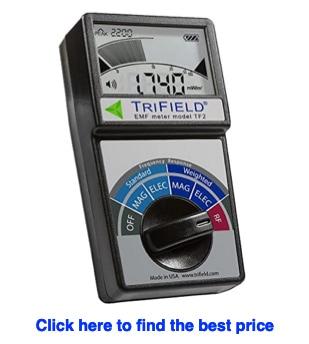 trifield emf meter to test emf blanket